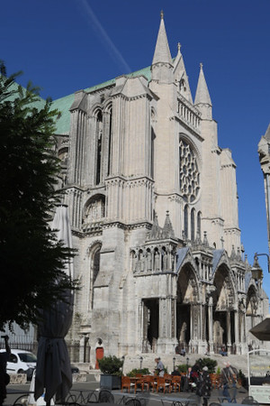 Chartres Cathedral South Facade
