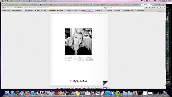 Screenshots Social Book