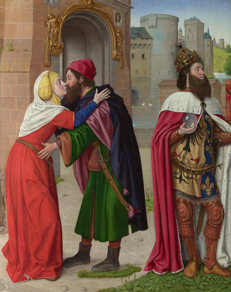 Charlemagne and the Meeting at the Golden Gate