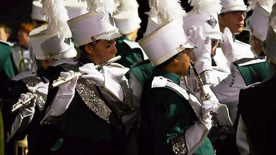 October 13 2012: NMHS Band and Guard at Cheshire High School