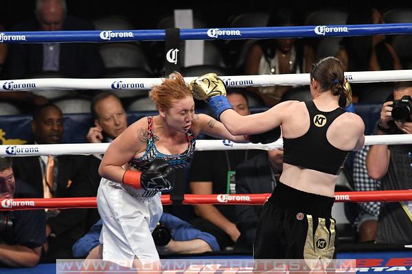 Katie Taylor vs. Jasmine Clarkson