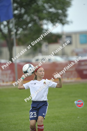 U12 Girls - FC United Thunder Red vs Wisconsin Rapids Kickers