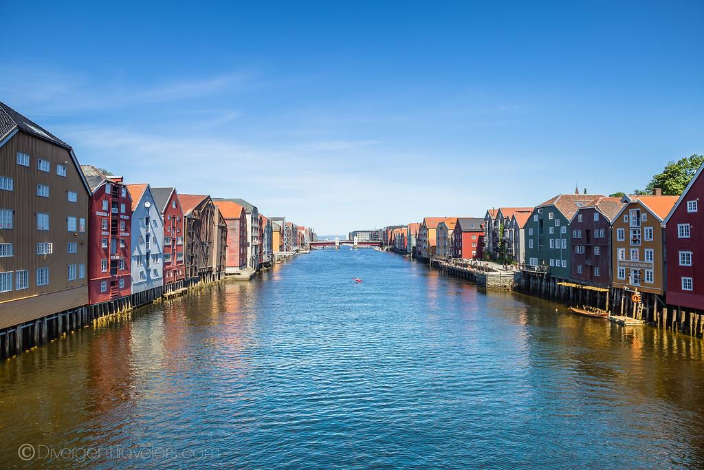 Trondheim Norway - Hanseatic Houses - Lina Stock