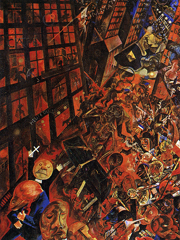 "George Grosz, ""Dedicated to Oskar Panizza,"" 1918"