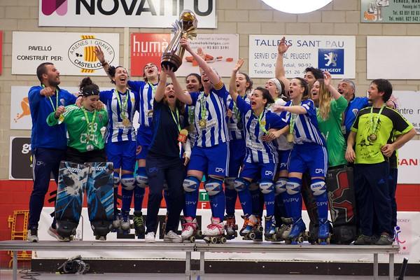 Female League Cup '19 awarding ceremony