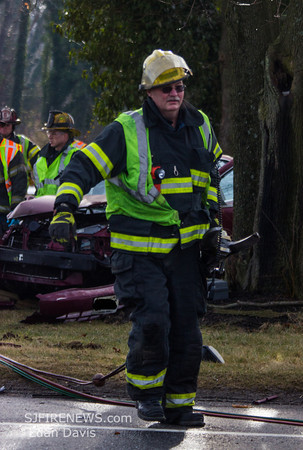 02/02/2014, MVC with Entrapment, Vineland City, Cumberland County, E. Grant Ave. and S. Lincoln Ave.