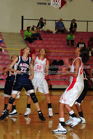 USA Lady Hoopsters VS Missouri Valley Blazers
