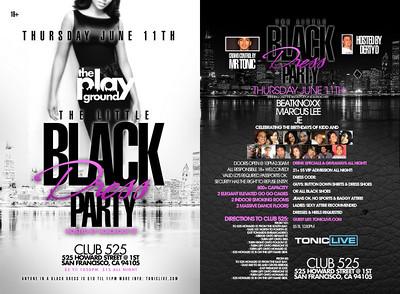 The Little Black Dress Party @ NV - 6.11.09