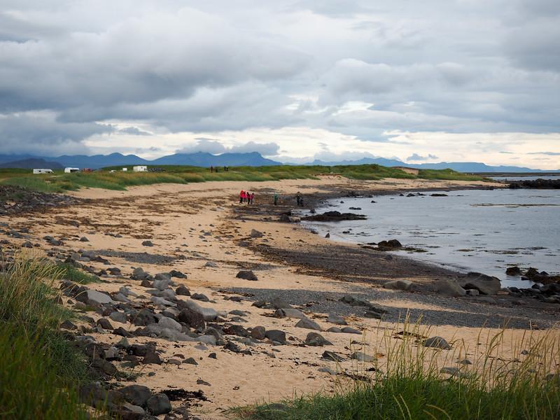 Beach at Ytri-Tunga seal colony