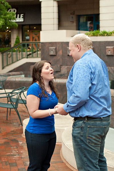Amber and Matt live marriage proposal session!