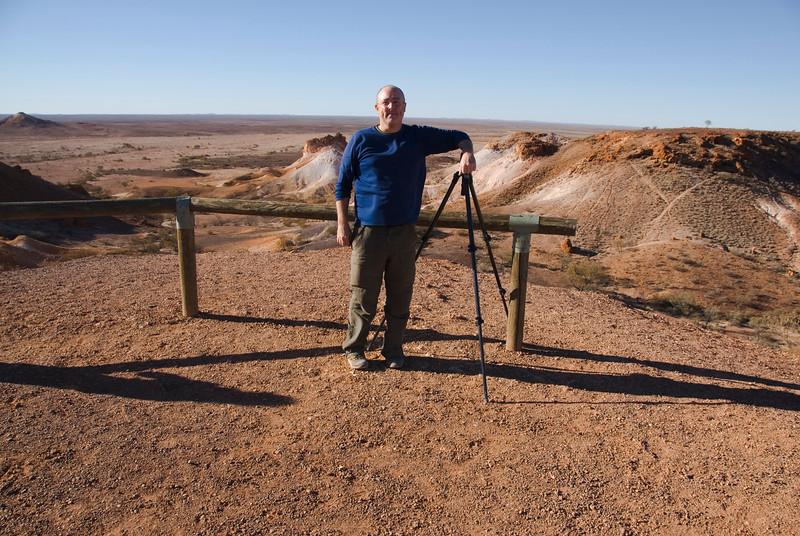 Me at Breakaways - Coober Pedy, South Australia
