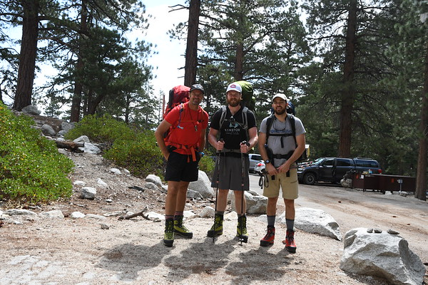 Mt. Whitney Mountaineers Route July 25-26, 2017