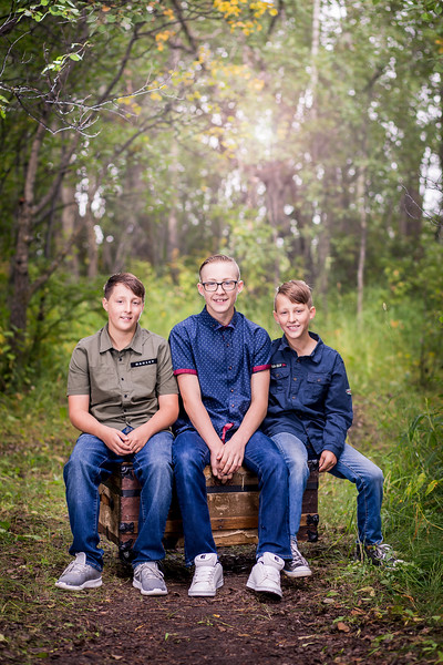 Brothers - Near Sylvan Lake Alberta