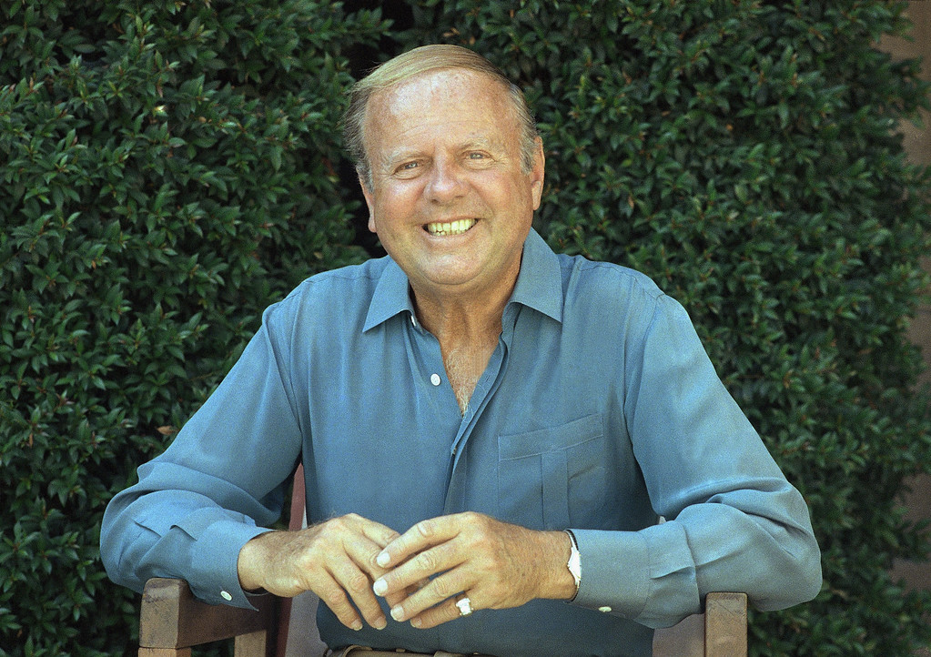 . Dick Van Patten shown on Oct. 13, 1987   (AP Photo/Mark Terrill)
