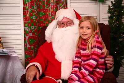 Mayfield Santa Photos