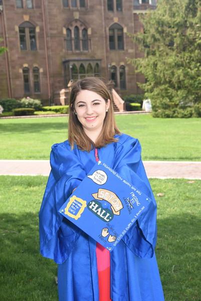 Mary Gabrielle SHU Grad 2018