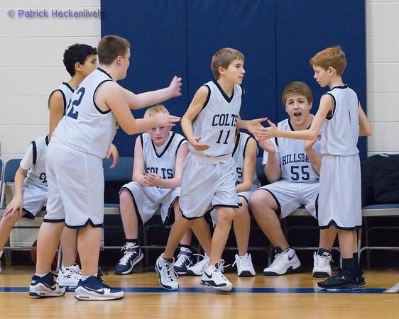 2010-12-15 7th Grade Boys Basketball