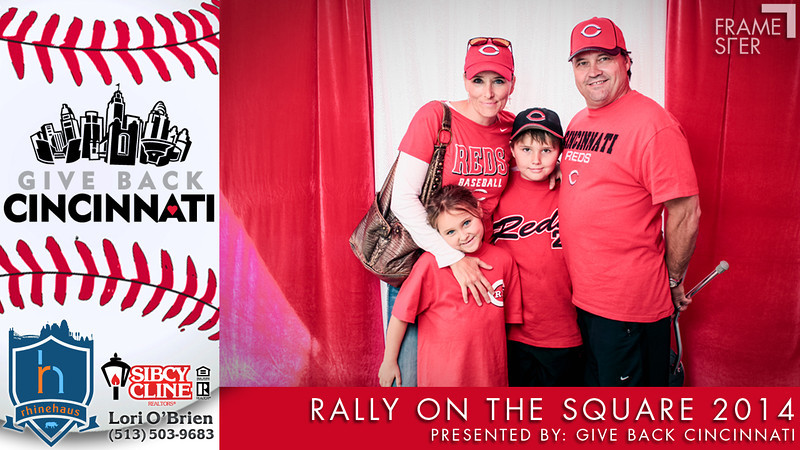 Rally on the Square: Reds Opening Day presented by Give Back Cincinnati