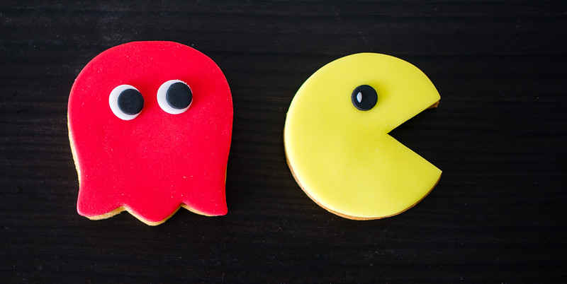 Pacman cookie