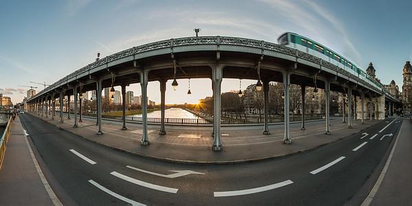 Seine River Banks 360 Pano Photos