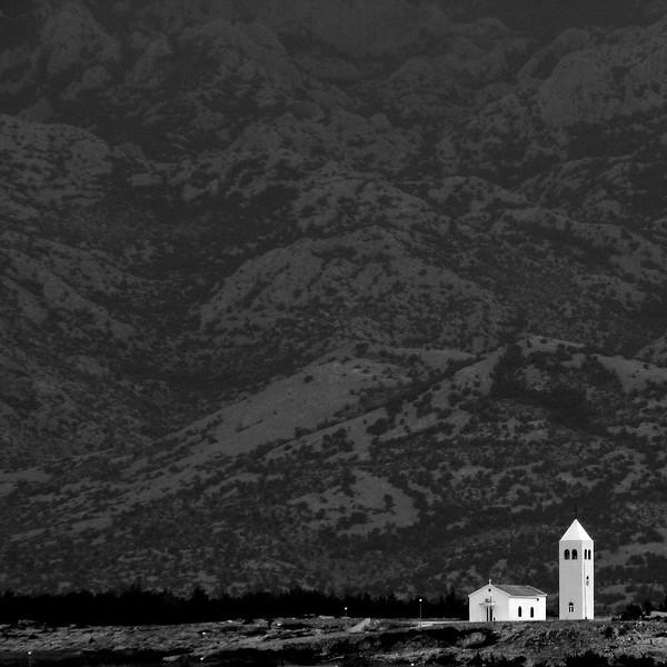 Kirche in Rtina, Kroatien