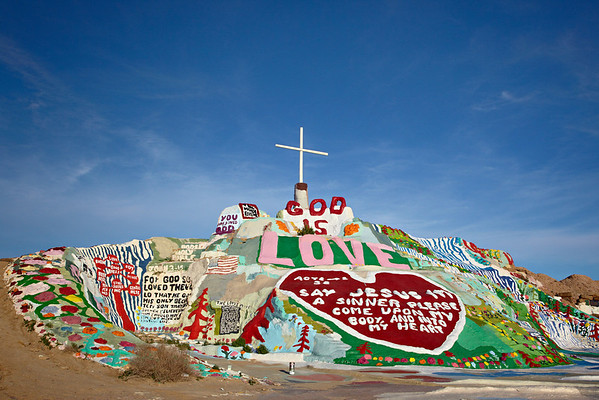 Salvation Mountain and Slab City
