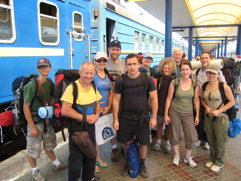 Odessa adventurers arrive in Simferopol, Crimea