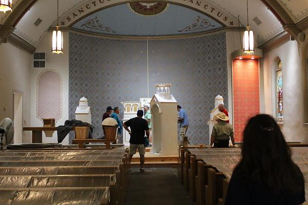 Chapel renovations