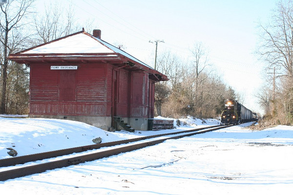 Along the Shenandoah Valley Railroad
