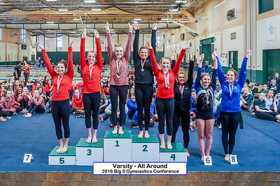 HS Sports - Gymnastics - Big 8 Conference [d] Feb 20, 2016