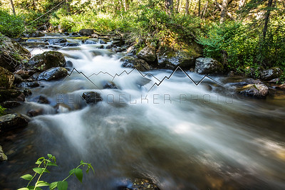 Long Exposure of East Brush Creek, CO