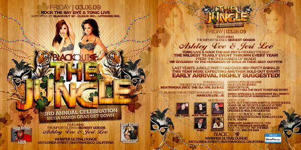 The Jungle @ Whisper - 03.06.09