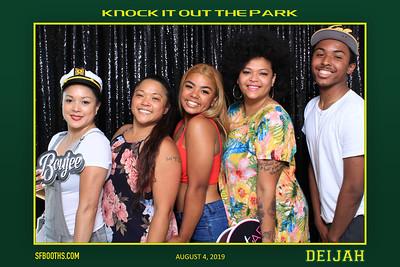 Deijah Knock It Out The Park - August 4, 2019
