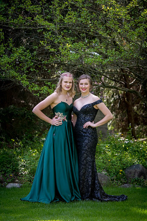 Macayla and Molly's Prom