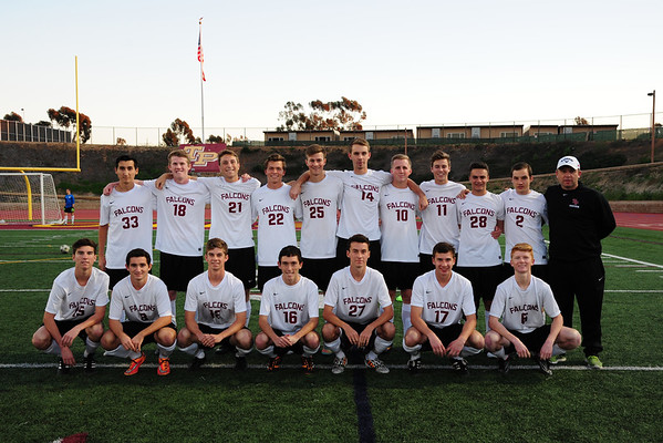 TP Boys Soccer Senior Night, 2-13-15