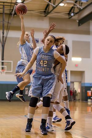 2013 Page County Varsity Girls vs Brunswick