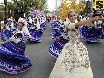 Sinulog 2012 launching parade