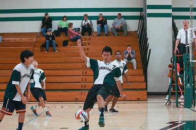 Madison Memorial Boys JV Volleyball - Oct 17, 2013