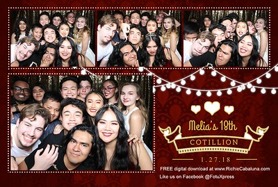 Melia's 18th Birthday