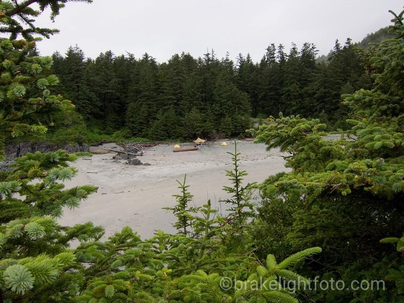 Campsite at Third Beach, Nootka Island