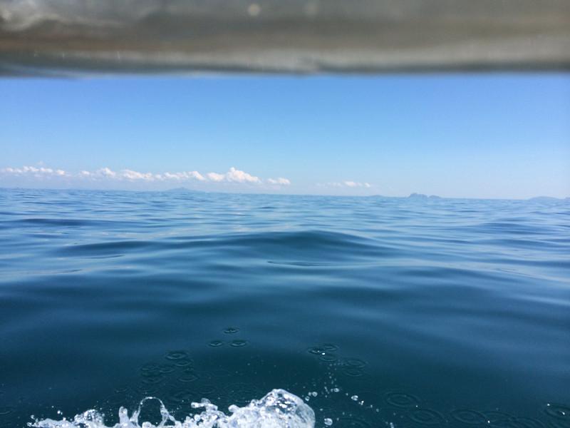 La mer d'Andaman.