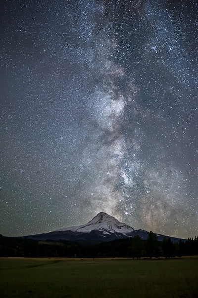 Milky Way over Mt Hood workshop