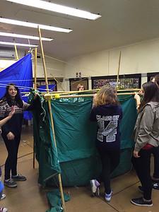 Upside Down Tents