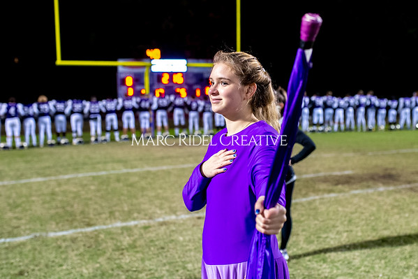 Broughton football vs Millbrook. Senior night. November 8, 2019. D4S_7328