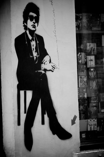 Street art for hanging