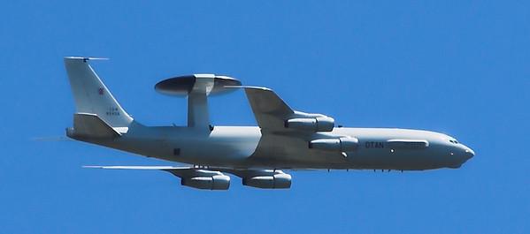 NATO AWACS E-3A over Jutland