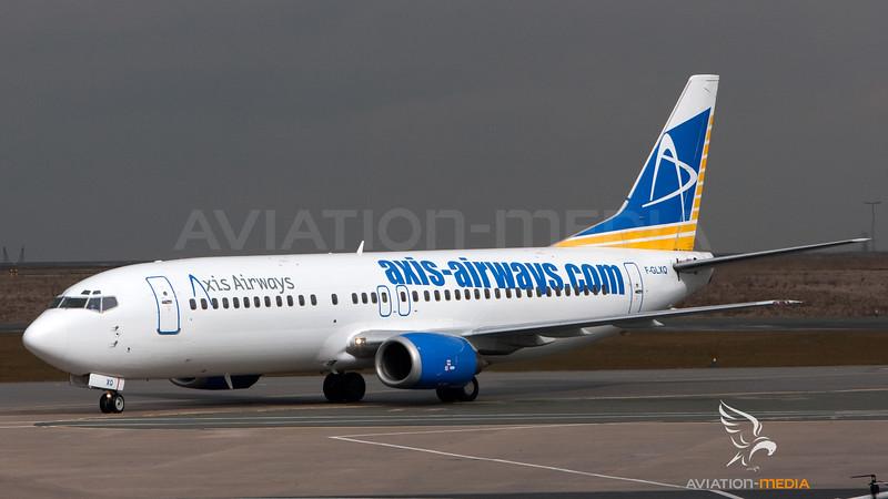 Axis Airways Boeing B737-400 F-GLXQ