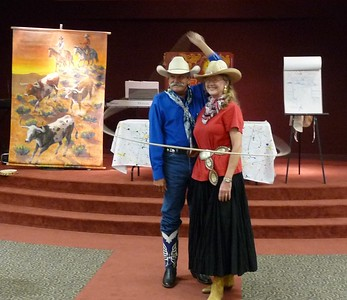 Wild West Summer Reading '09 Finale with Cowboy Bruce & Vernelle