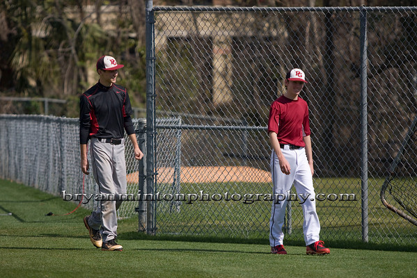 Bo and Harrison Baseball Recruiting Video Shoot Feb 2013
