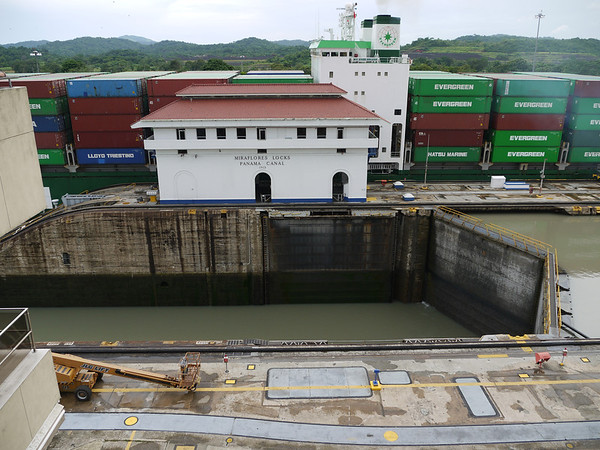 Panama -- Panama Canal, Mira Flores, Panama